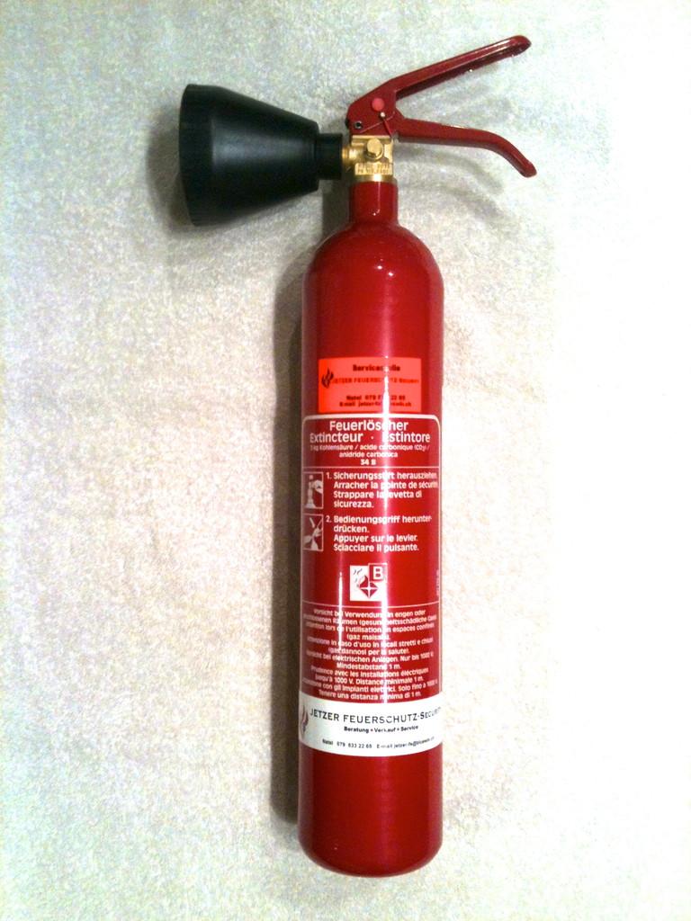 Kohlendioxyd Feuerlöscher 2 & 5 Kg