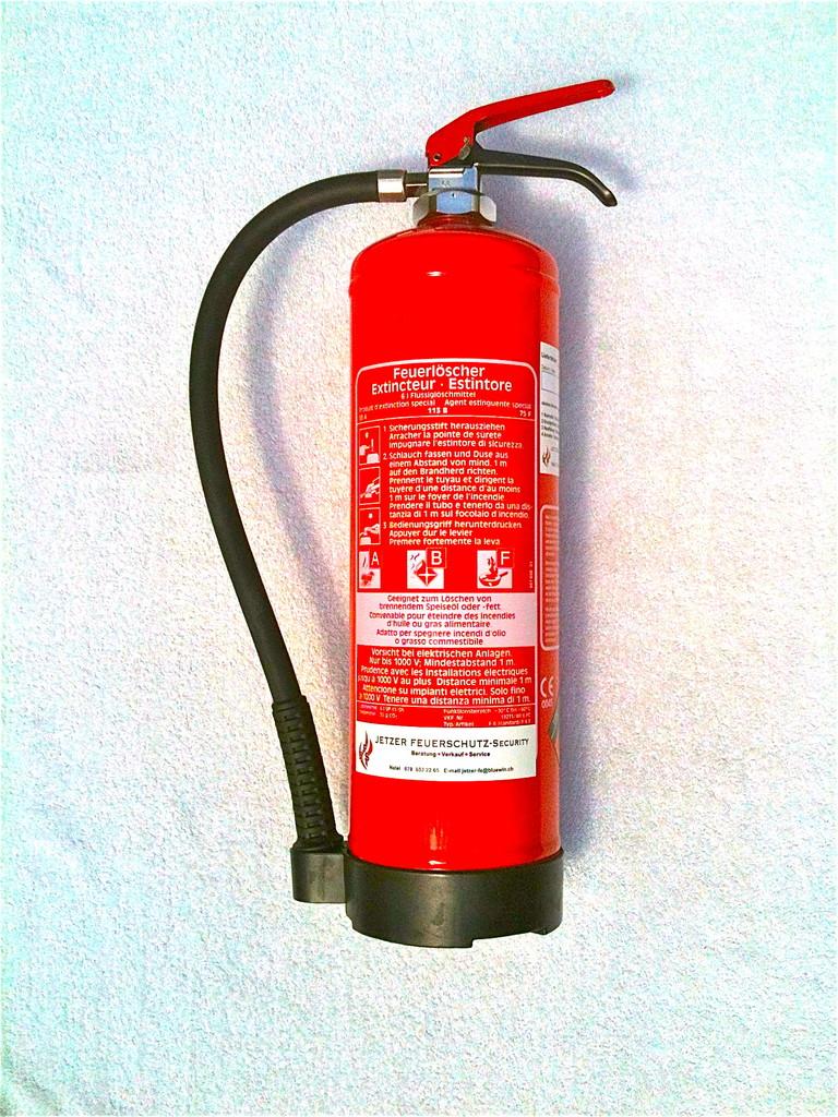 Fettbrand Feuerlöscher 6 Ltr.