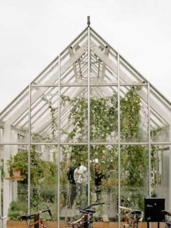Gewächshaus Hochzeit: Eine Hochzeit im Gewächshaus ist ein neuer Trend und vermittelt Natürlichkeit.  Die botanischen Elemente und rustikale Dekoration sorgen für eine lockere Atmosphäre mit ganz viel Charme.