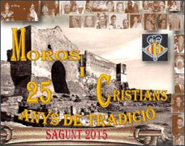 Moros y Cristianos de Sagunto 2016 Cartel y Programa