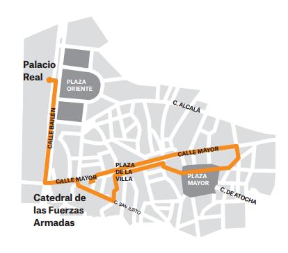 Viernes Santo en Madrid los Alabarderos