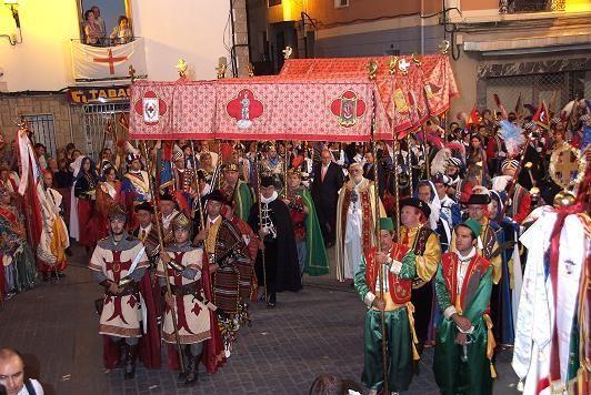 Moros y Cristianos en Banyeres de Mariola