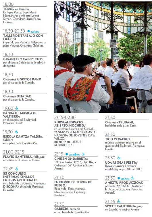 Semana Grande San Sebastián Donostia 2016