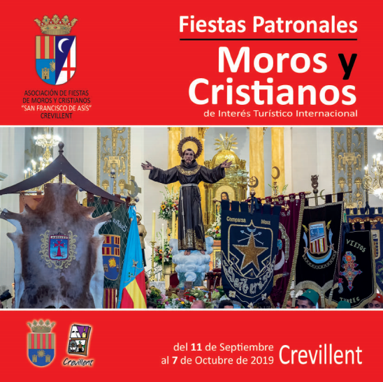 Programa de Moros y Cristianos en Crevillent