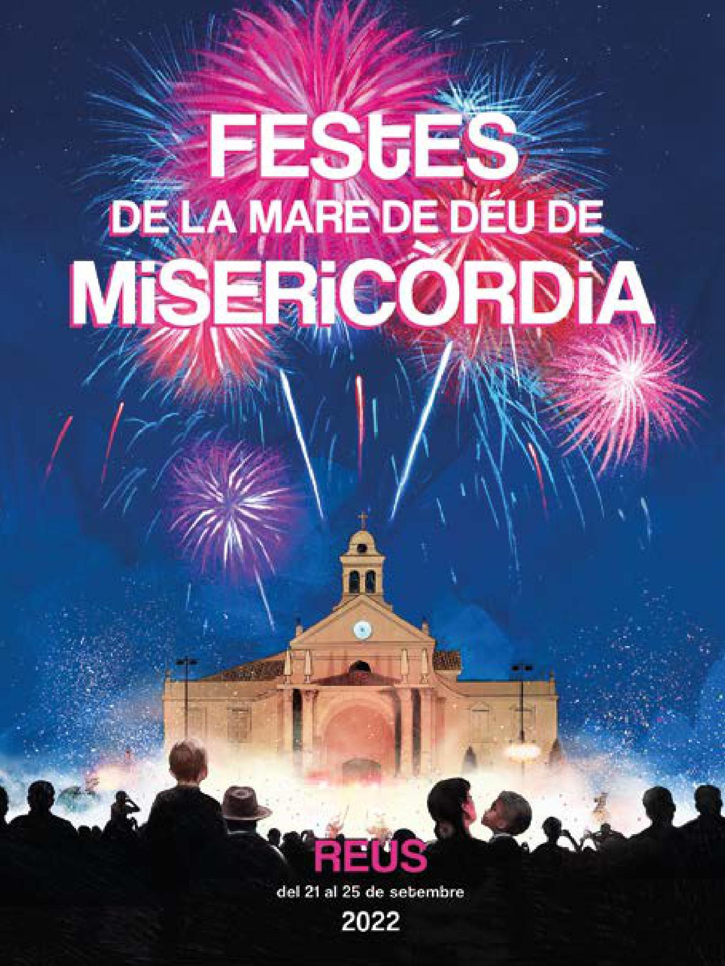 Festa Major de Misericòrdia 2015 en Reus Cartel y Programa