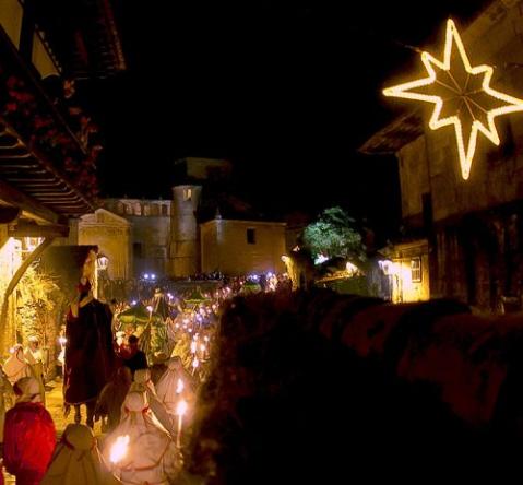 Horario y recorrido de la Cabalgata de Reyes de Santillana de Mar