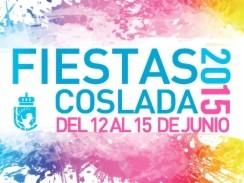 Cartel y programa de las Fiestas de Coslada 2015