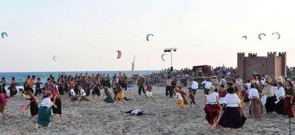 Festes del Mar y Desembarco pirata en Castelldefels