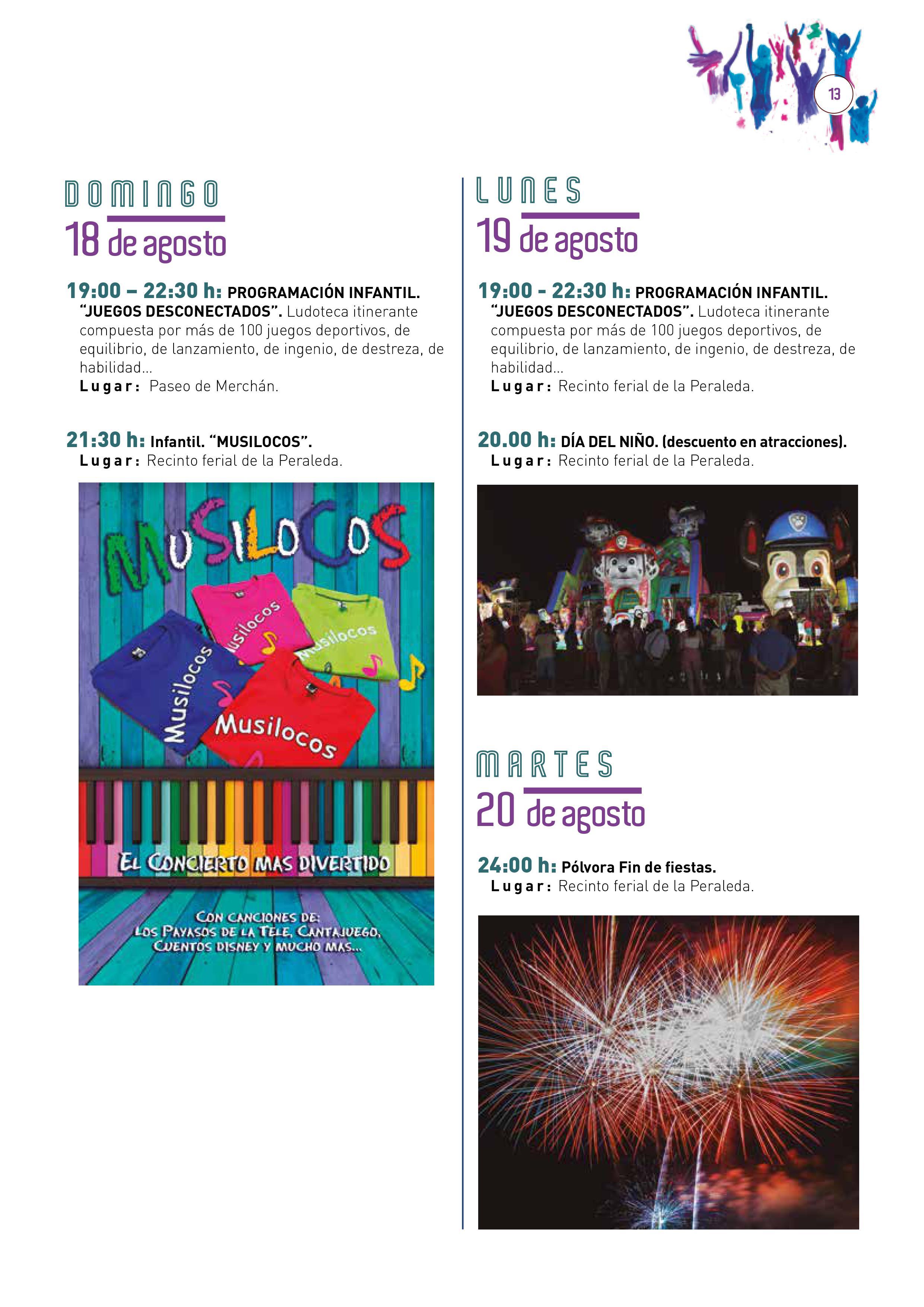 Programa de la Feria y Fiestas de Toledo