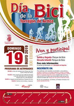 Dia de la Bici en Torrejon de Ardoz