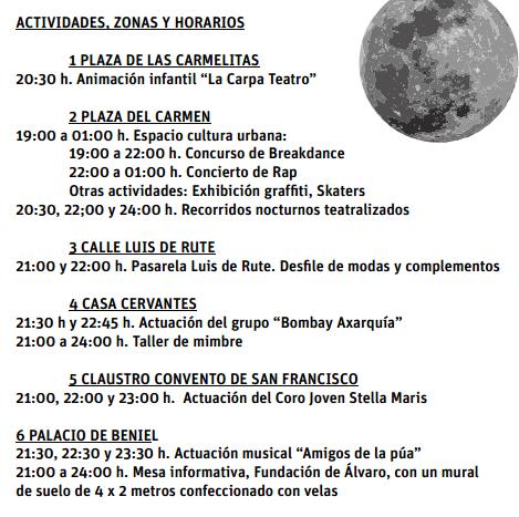 Noche Abierta en Vélez-Málaga