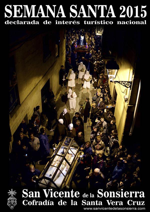 """Cartel de la Semana Santa de San Vicente de la Sonsierra, los """"picaos"""""""