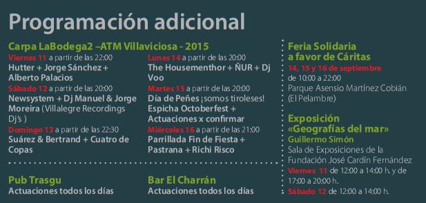 Fiestas del Portal en Villaviciosa 2015