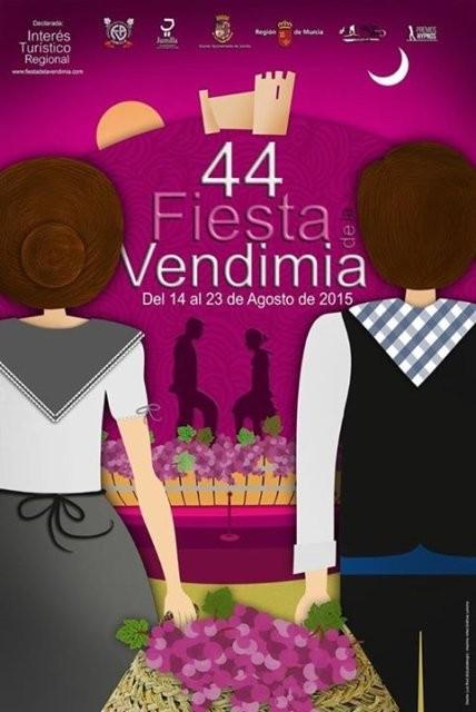 Fiesta de la Vendimia en Jumilla 2015 Cartel y programa