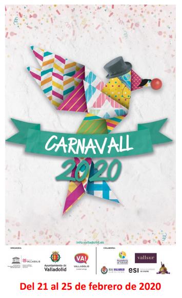 Programa del Carnaval de Valladolid