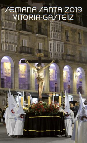 Procesiones Horarios e Itinerarios de la Semana Santa de Vitoria Gasteiz