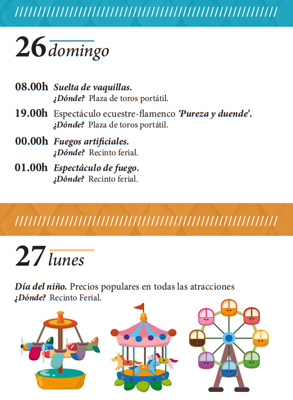 Fiestas de Villanueva de la Serena 2015 Programa