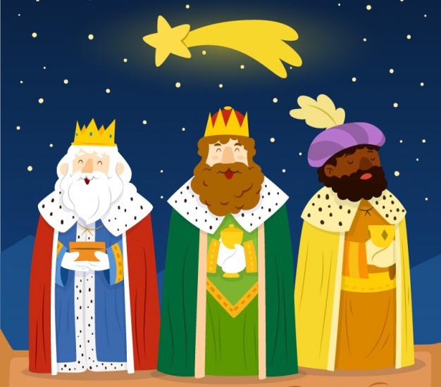 Programa de la Cabalgata de reyes en Pozuelo de Alarcón