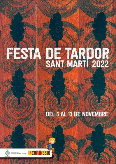 Programa de la Festa de Tardor Sant Martí en Cerdanyola