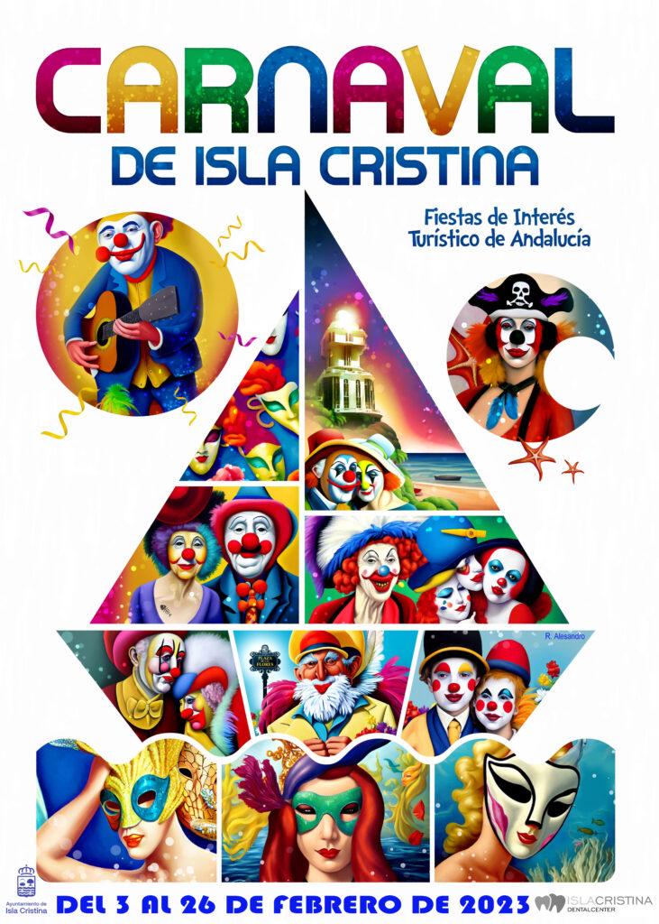 Cartel y programa del Carnaval de Isla Cristina