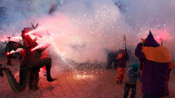 Programa de les Festes de Nou Barris 2015 Diables