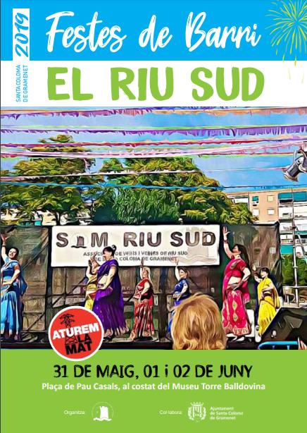 Fiestas del Barrio Riu Sud en Santa Coloma de Gramanet
