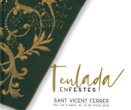Cartel de las Fiestas de Sant Vicent Ferrer en Teulada