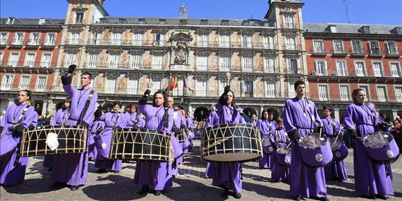 Horario y recorrido de la Tamborrada de Madrid