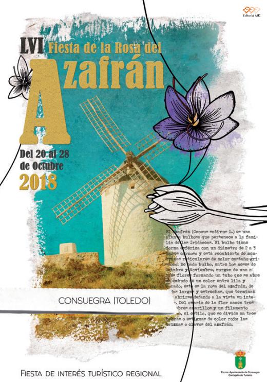 Programa de la Fiesta del Rosa del Azafrán en Consuegra