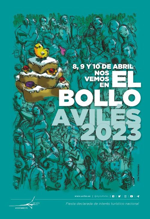 Programa de las Fiestas de El Bollo en Avilés