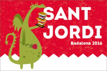 Fiestas en Badalona Fira de Sant Jordi i Fira del Llibre