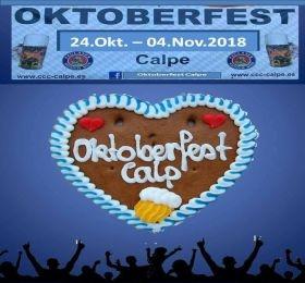 Fiestas en Calpe Oktoberfest