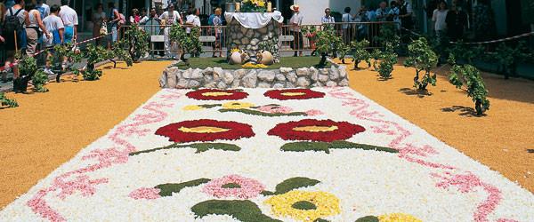 Festividad del Corpus en Sitges