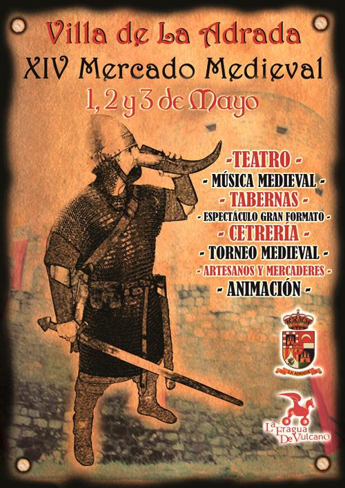 Cartel del Mercado Medieval de La Adrada 2015