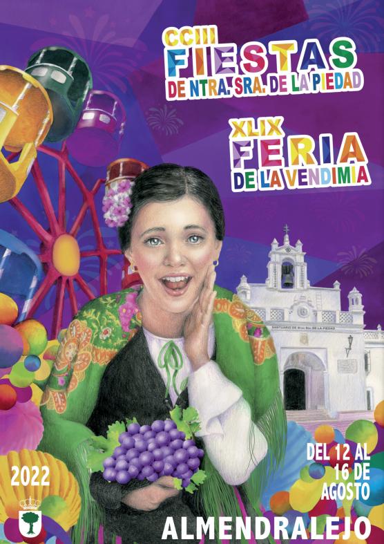 Almendralejo Fiestas de la Piedad y Feria de la Vendimia