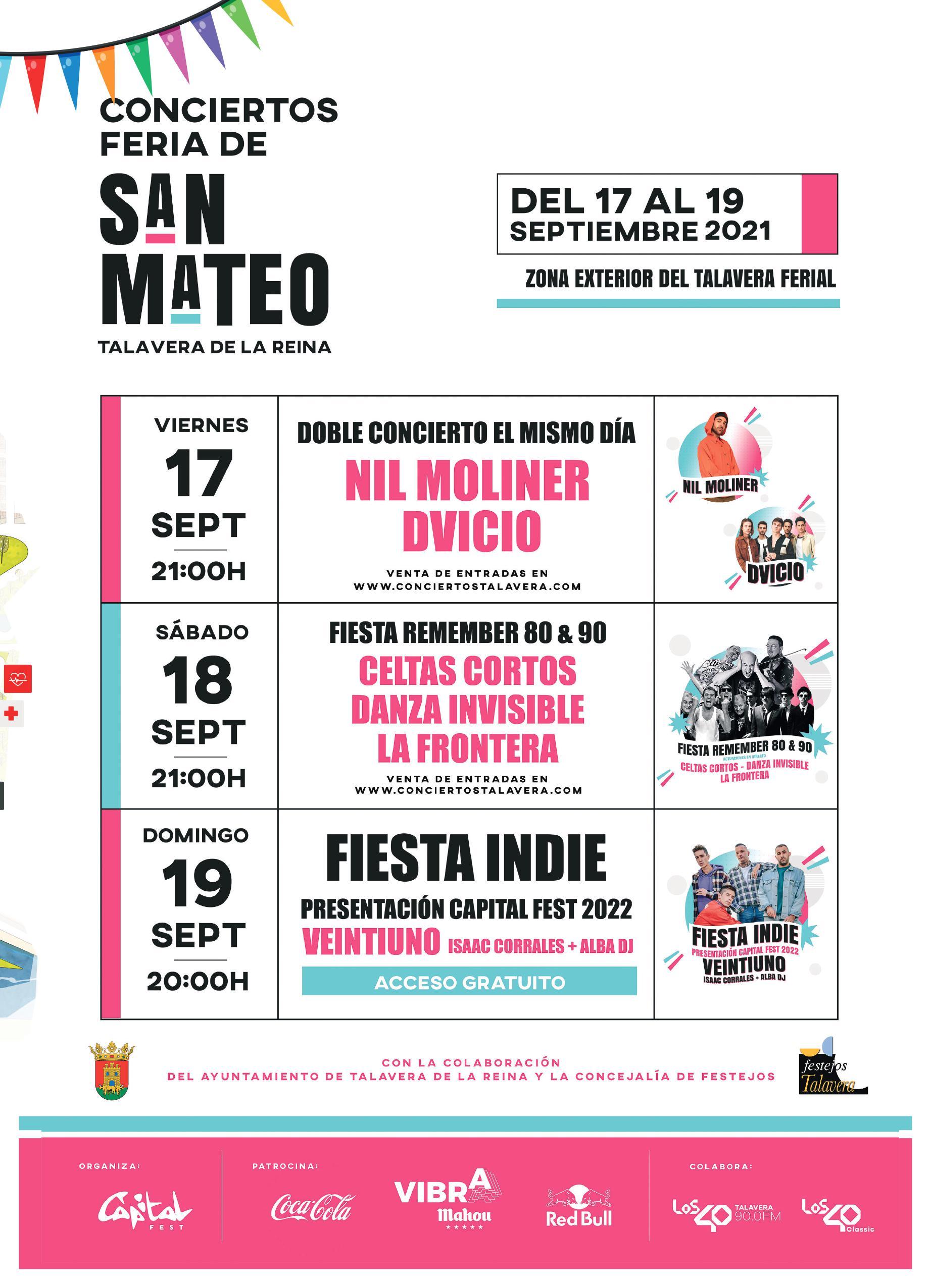 Ferias de San Mateo en Talavera de la Reina