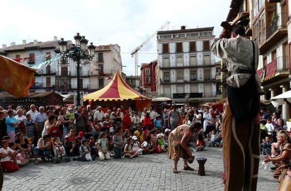Las Alfonsadas en Calatayud