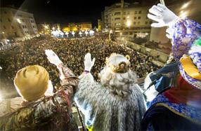 Fiestas en Irún Cabalgata de Reyes