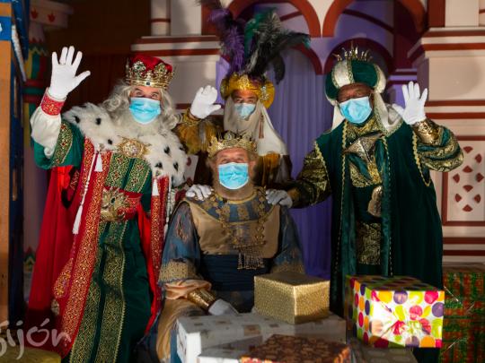 Horario y recorrido de la Cabalgata de Reyes de Gijón