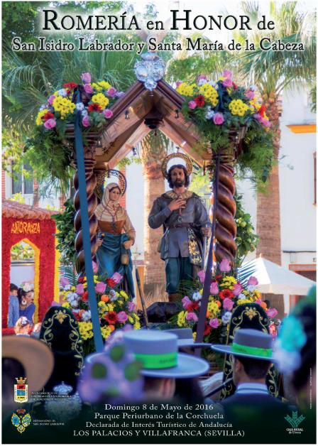 Romería de San Isidro en Los Palacios y Villafranca
