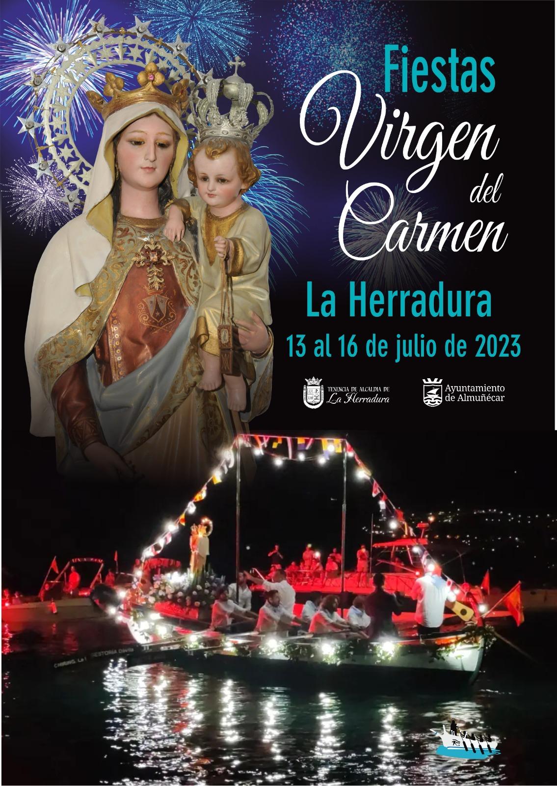 Fiestas en Almuñecar Virgen del Carmen en La Herradura