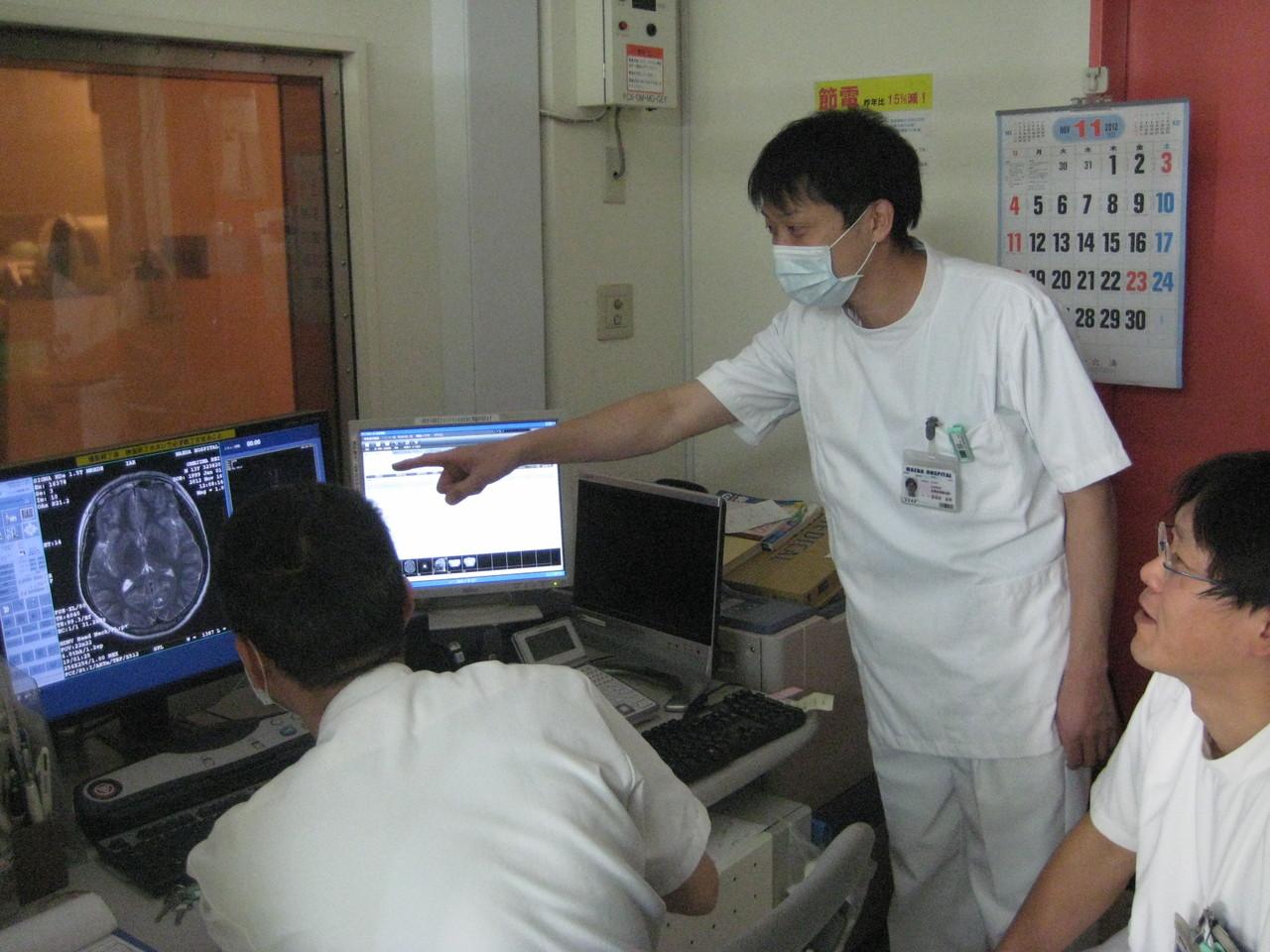 MRI、CTなど24時間体制で対応!院内ですぐ診断、治療ができます!