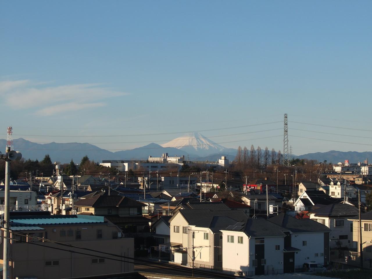富士山を見ながら働けます!