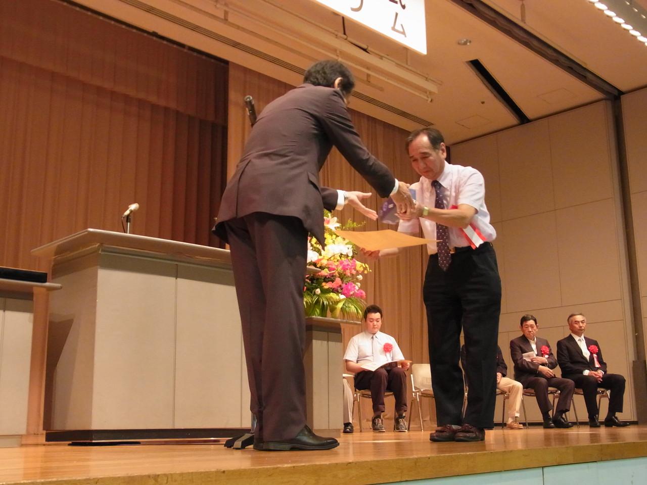 東京都の救急医療功労者・医療機関として東京都知事から表彰されました