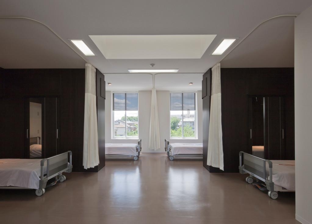 大部屋ですが個室のような環境です