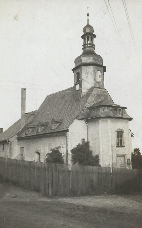 frühere Ansicht der Kirche