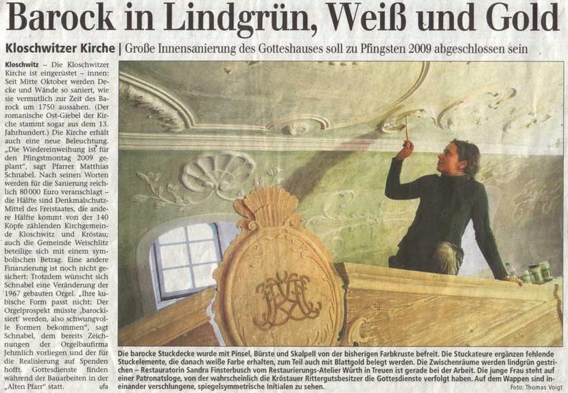 Vogtland Anzeiger 19.12.2008