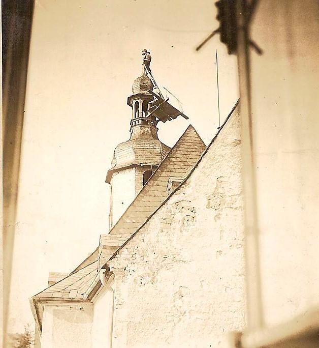 frühere Kirchturmarbeiten