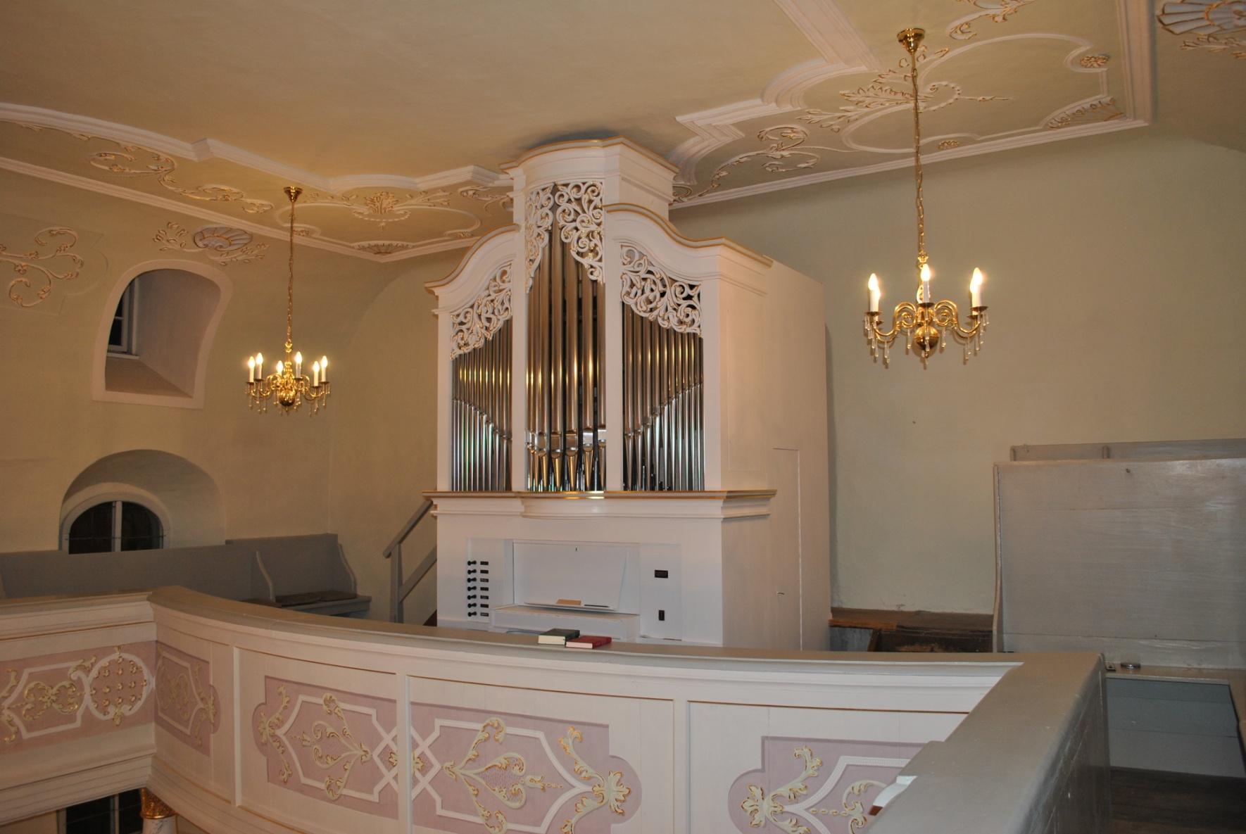 2012 Sanierung der Orgel