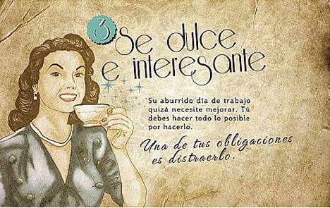Guía de la buena esposa, cartel n°3